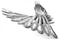 Silber Fischbesteck