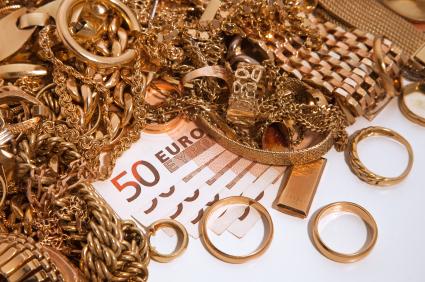 Geld beim online Goldankauf