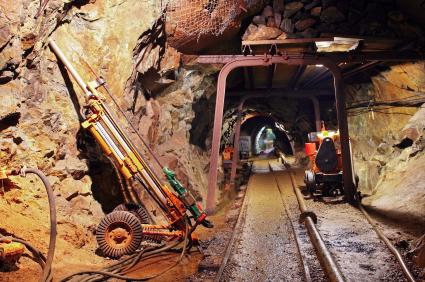 Goldmine unter Tage