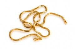 Goldketten sind wertvoll und kann man verkaufen