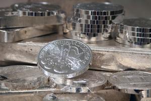 Silbermünzen lassen sich super verkaufen