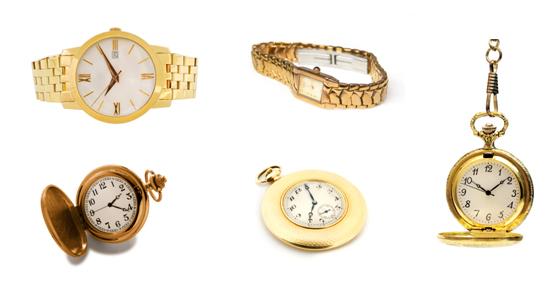 Uhren aus Gold